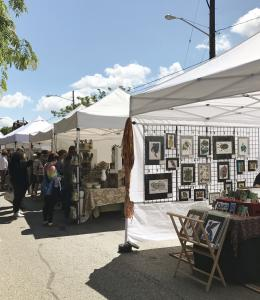 Barbara Ann McConoughey Presents At The 40th Annual Lakewood Arts Festival